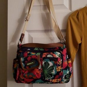 Pocketbook and dress